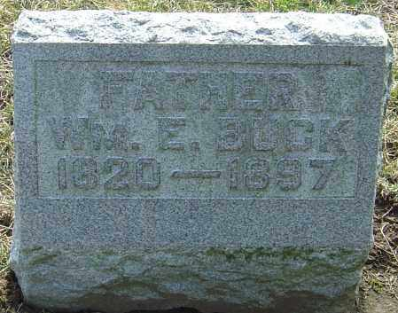 BUCK, WILLIAM EDWARD - Franklin County, Ohio | WILLIAM EDWARD BUCK - Ohio Gravestone Photos