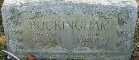 BUCKINGHAM, WILLARD M - Franklin County, Ohio | WILLARD M BUCKINGHAM - Ohio Gravestone Photos