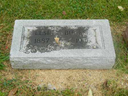 HAZELWOOD BUCKLE, ELSIE - Franklin County, Ohio | ELSIE HAZELWOOD BUCKLE - Ohio Gravestone Photos