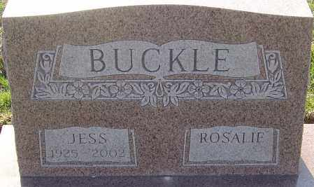 BUCKLE, JESS - Franklin County, Ohio | JESS BUCKLE - Ohio Gravestone Photos