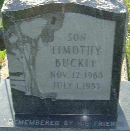 BUCKLE, TIMOTHY - Franklin County, Ohio | TIMOTHY BUCKLE - Ohio Gravestone Photos