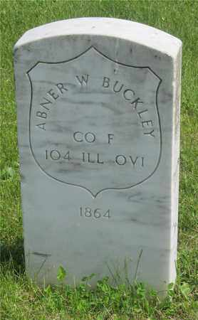 BUCKLEY, ABNER W. - Franklin County, Ohio | ABNER W. BUCKLEY - Ohio Gravestone Photos
