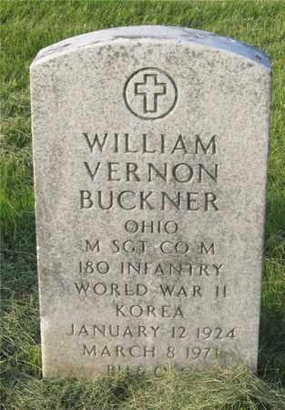 BUCKNER, WILLIAM VERNON - Franklin County, Ohio | WILLIAM VERNON BUCKNER - Ohio Gravestone Photos
