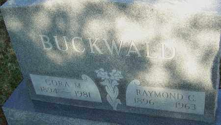 BUCKWALD, CORA - Franklin County, Ohio | CORA BUCKWALD - Ohio Gravestone Photos