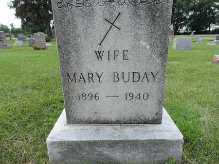 BUDAY, MARY - Franklin County, Ohio | MARY BUDAY - Ohio Gravestone Photos