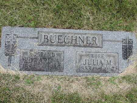 BUECHNER, JULIA M. - Franklin County, Ohio | JULIA M. BUECHNER - Ohio Gravestone Photos