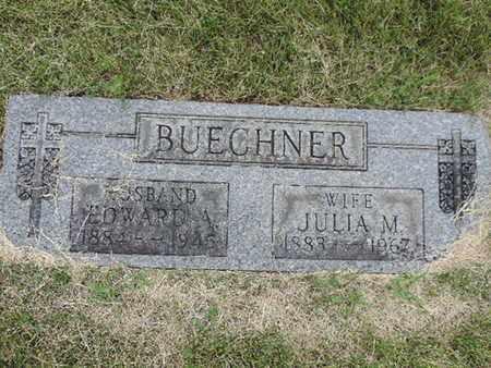 BUECHNER, EDWARD A. - Franklin County, Ohio | EDWARD A. BUECHNER - Ohio Gravestone Photos