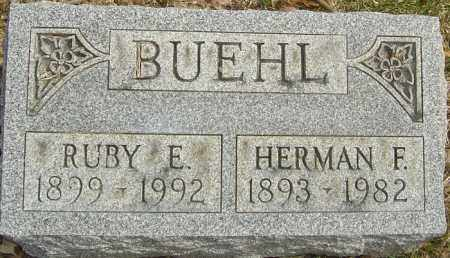 BUEHL, RUBY EDITH - Franklin County, Ohio | RUBY EDITH BUEHL - Ohio Gravestone Photos