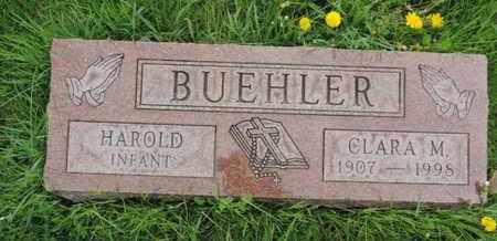 BUEHLER, HAROLD - Franklin County, Ohio | HAROLD BUEHLER - Ohio Gravestone Photos