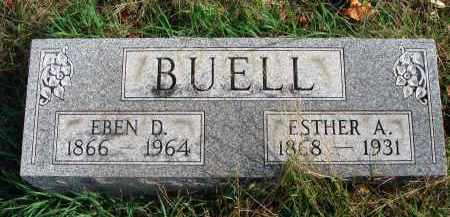 BUELL, ESTHER A. - Franklin County, Ohio | ESTHER A. BUELL - Ohio Gravestone Photos