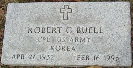 BUELL, ROBERT G - Franklin County, Ohio | ROBERT G BUELL - Ohio Gravestone Photos
