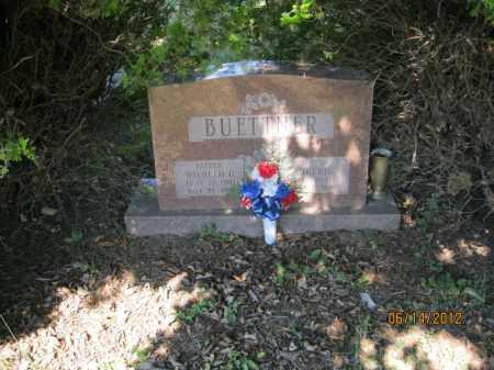 BUETTNER, WILHELM OSKAR - Franklin County, Ohio | WILHELM OSKAR BUETTNER - Ohio Gravestone Photos