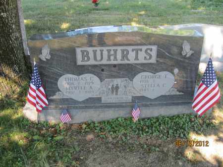 BUHRTS, THOMAS C - Franklin County, Ohio | THOMAS C BUHRTS - Ohio Gravestone Photos
