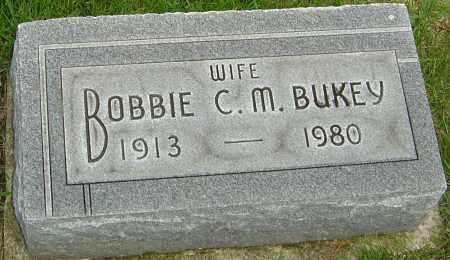 BUKEY, BOBBIE C M - Franklin County, Ohio | BOBBIE C M BUKEY - Ohio Gravestone Photos