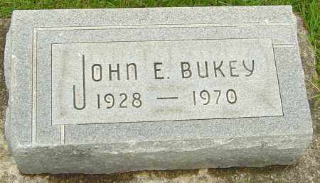 BUKEY, JOHN E - Franklin County, Ohio | JOHN E BUKEY - Ohio Gravestone Photos