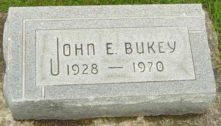 BUKEY, JOHN E - Franklin County, Ohio | JOHN E BUKEY - Ohio Gravestone Photos