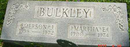 BULKLEY, EMERSON J - Franklin County, Ohio | EMERSON J BULKLEY - Ohio Gravestone Photos