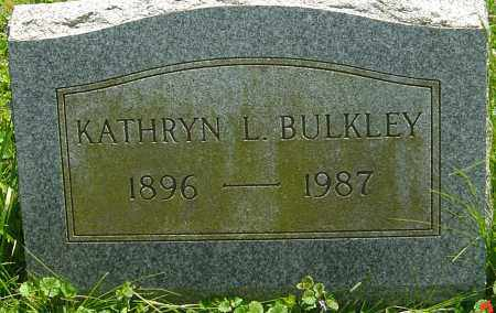 BULKLEY, KATHRYN L - Franklin County, Ohio | KATHRYN L BULKLEY - Ohio Gravestone Photos