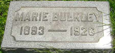 BULKLEY, MARTHA MARIE - Franklin County, Ohio | MARTHA MARIE BULKLEY - Ohio Gravestone Photos