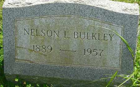 BULKLEY, NELSON L - Franklin County, Ohio | NELSON L BULKLEY - Ohio Gravestone Photos