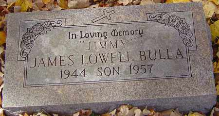 BULLA, JAMES LOWELL - Franklin County, Ohio | JAMES LOWELL BULLA - Ohio Gravestone Photos