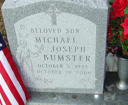 BUMSTER, MICHAEL JOSEPH - Franklin County, Ohio | MICHAEL JOSEPH BUMSTER - Ohio Gravestone Photos