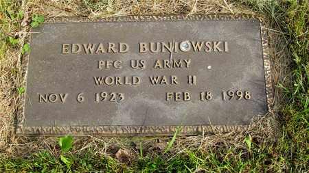 BUNIOWSKI, EDWARD - Franklin County, Ohio | EDWARD BUNIOWSKI - Ohio Gravestone Photos