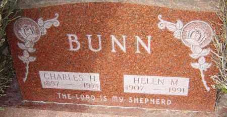 BUNN, CHARLES H - Franklin County, Ohio | CHARLES H BUNN - Ohio Gravestone Photos