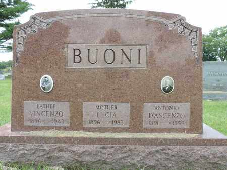BUONI, LUCIA - Franklin County, Ohio | LUCIA BUONI - Ohio Gravestone Photos