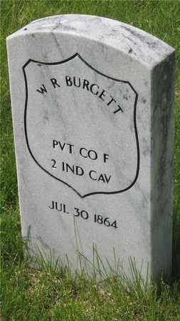 BURGETT, W. R. - Franklin County, Ohio | W. R. BURGETT - Ohio Gravestone Photos