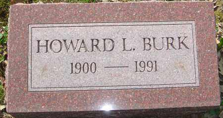 BURK, HOWARD L - Franklin County, Ohio | HOWARD L BURK - Ohio Gravestone Photos