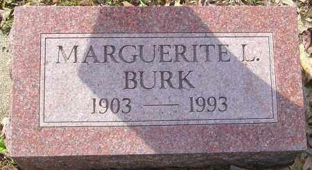 BURK, MARGUERITE L - Franklin County, Ohio | MARGUERITE L BURK - Ohio Gravestone Photos