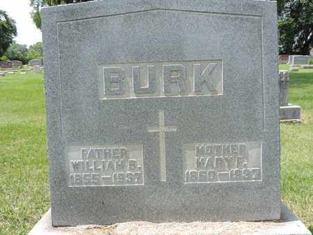 BURK, WILLIAM B. - Franklin County, Ohio | WILLIAM B. BURK - Ohio Gravestone Photos