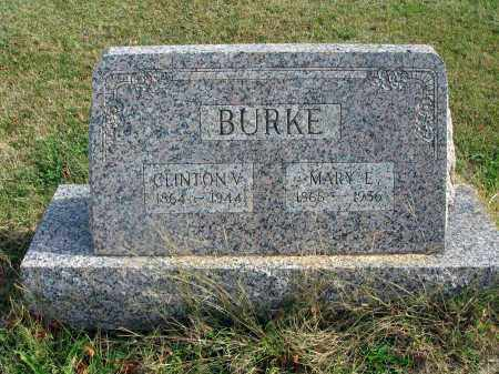 BURKE, MARY E. - Franklin County, Ohio | MARY E. BURKE - Ohio Gravestone Photos
