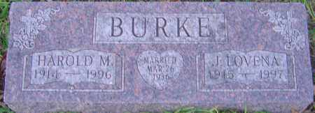 BURKE, HAROLD - Franklin County, Ohio | HAROLD BURKE - Ohio Gravestone Photos