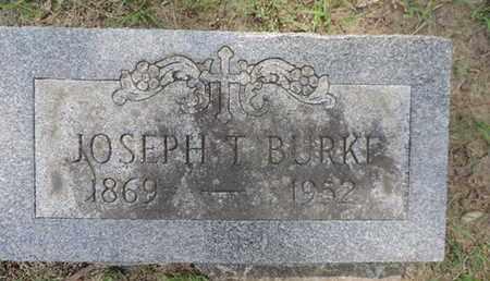 BURKE, JOSEPH T. - Franklin County, Ohio | JOSEPH T. BURKE - Ohio Gravestone Photos