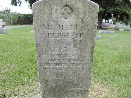 BURKE JR., MICHAEL J. - Franklin County, Ohio | MICHAEL J. BURKE JR. - Ohio Gravestone Photos