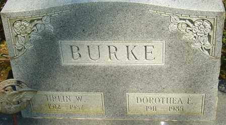 BURKE, URLIN W - Franklin County, Ohio | URLIN W BURKE - Ohio Gravestone Photos