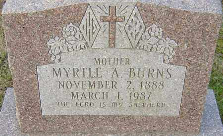 BURNS, MYRTLE - Franklin County, Ohio | MYRTLE BURNS - Ohio Gravestone Photos