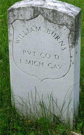 BURNS, WILLIAM - Franklin County, Ohio   WILLIAM BURNS - Ohio Gravestone Photos