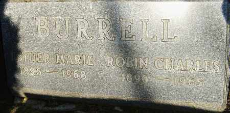 BURRELL, ESTHER - Franklin County, Ohio | ESTHER BURRELL - Ohio Gravestone Photos
