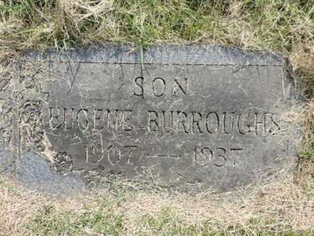 BURROUGHS, EUGENE - Franklin County, Ohio | EUGENE BURROUGHS - Ohio Gravestone Photos