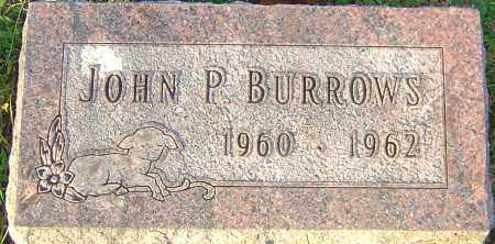 BURROWS, JOHN P - Franklin County, Ohio | JOHN P BURROWS - Ohio Gravestone Photos