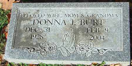BURT, DONNA JEAN - Franklin County, Ohio | DONNA JEAN BURT - Ohio Gravestone Photos