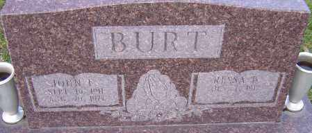 BURT, JOHN - Franklin County, Ohio | JOHN BURT - Ohio Gravestone Photos
