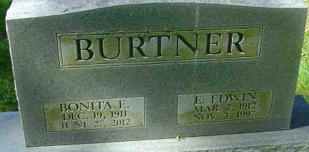 BURTNER, BONITA - Franklin County, Ohio | BONITA BURTNER - Ohio Gravestone Photos