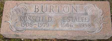 BURTON, ESTALEE - Franklin County, Ohio | ESTALEE BURTON - Ohio Gravestone Photos