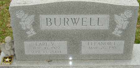 BURWELL, EARL VINCENT - Franklin County, Ohio | EARL VINCENT BURWELL - Ohio Gravestone Photos