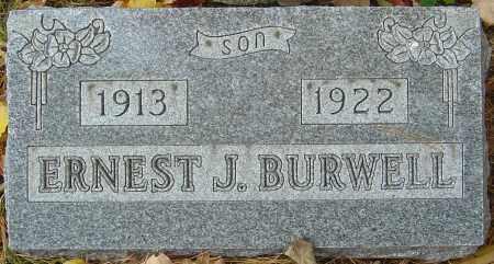 BURWELL, ERNEST JOHN - Franklin County, Ohio | ERNEST JOHN BURWELL - Ohio Gravestone Photos