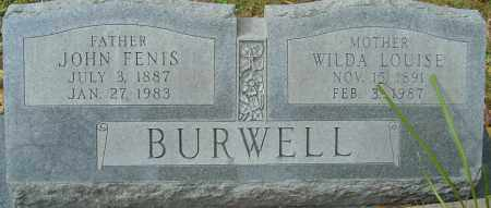 BURWELL, WILDA LOUISE - Franklin County, Ohio | WILDA LOUISE BURWELL - Ohio Gravestone Photos